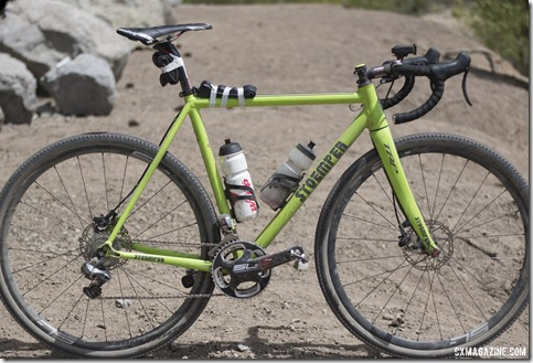 Ben Berden's Stoemper gravel bike. 2015 Lost and Found. © Cyclocross Magazine